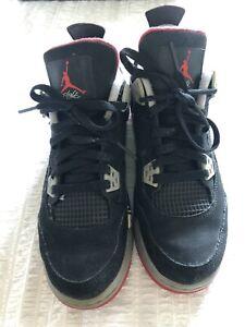 """Nike Air Jordan 4 """"Bred"""" 2012 UK5.5"""
