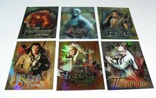 THE HOBBIT DESOLATION OF SMAUG LOT OF 6 FOIL CARDS #CB-20,21,22,24,26,28