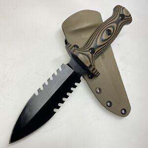 TREEMAN Knives Ultra Combat Dagger RARE