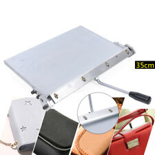 Stainless Steel 35cm Folding Machine Silver Leather Creasing Equipment Tool