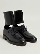 Yang Li Black Leather Lucia Ankle Cuff Derby Ann Shoes Sz 41 Demeulemeester