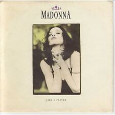"Madonna ‎Vinile 7"" 45 giri Like A Prayer / Act Of Contrition (LP Version) Nuovo"