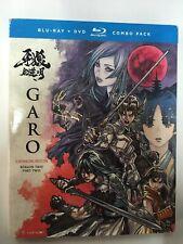 Garo: Crimson Moon - Season Two Part Two [New Blu-ray+dvd]with Slip Cover
