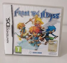 FROM THE ABYSS GDR  NINTENDO NDS DS DSi 3DS 2DS PAL ITALIANO NUOVO SIGILLATO