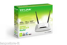 ROUTER WI-FI 300Mbps 2x2 MIMO WIRELESS ACCESS POINT 4LAN HD TL-WR841N no modem