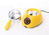 Yellow Mini Melted Fountain Chocolate Pot Fondue Self-restraint Heated Machine