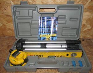 Parkside 680 Laser Tool Kit 3 Function Laser-Type Spirit Level in Case