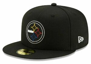 Pittsburgh Steelers NFL Steel City Football Draft 59FIFTY Cap Hat Fitted Men's 7