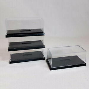 Anti Dust Proof Acrylic Display Case Clear Storage Box for 1/64 Model Car Toy
