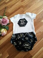 Harry Potter Baby Boys Bloomer Outfit Set 6-9 months
