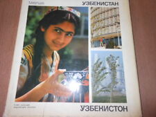 UZBEKISTAN VINTAGE PHOTO ALBUM SOVIET PROPAGANDA USSR KAZAKHSTAN BOOK