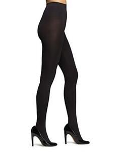 Calvin Klein 254226 Women's Infinite Opaque Tights Black Size B