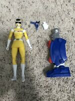 Power Rangers In Space Legacy Yellow Ranger Action Figure