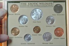 The Exotic Wildlife 10 Coins of The World Collection Set