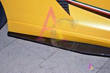 Lamborghini Gallardo - AeroCarbon carbon fiber Side Skirt Splitter (Dry Carbon)