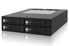 "New ICY Dock MB994SK-1B 4x 4 bay 2.5"" SATA SAS HDD Mobile Rack with key lock"
