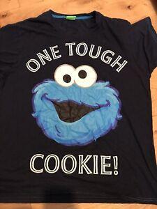 Cookie Monster - Mens T-Shirt / Retro / Muppets / Vintage / Cartoons