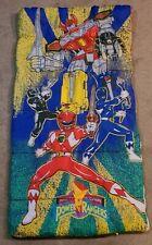 Vintage 1994 Saban Mighty Morphin Power Rangers Kids Sleeping Bag