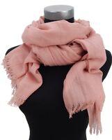 Damenschal rosa Schal by Ella Jonte weicher leichter luftiger Schal unifarben