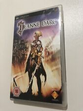 Jeanne d'Arc PSP Game Used Complete Free P&P