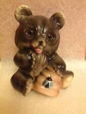 Vintage ceramic Honey bear figurine made in Japan