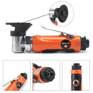 "1/4"" Air Pneumatic Right Angle Grinder Die Polisher Cleaning Grinding Wheel kit"