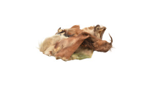 Cow Ears with Hair/Fur   100% Natural Air-Dried Treat for Dogs
