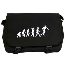 Evolution of Basketball Black Messenger Flight Bag slam dunk jordan NEW