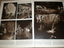 Photo article progress on Italy Swiss Mont Blanc Road Tunnel 1959