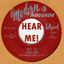 R&B REPRO: YOUNG JESSIE - Mary Lou/Don't Think I Will MODERN
