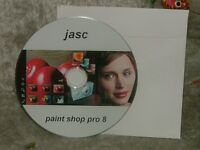 Paint Shop Pro 8 with Animation Shop 3 cd