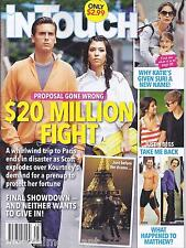 In Touch Weekly magazine Kardashians Katie Holmes Justin Bieber Selena Gomez