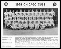 1968 Chicago Cubs Team Photo 8X10 - Buy Any 2 Get 1 FREE