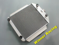56mm aluminum radiator fit Ford car streetrod flathead 8 cylinder M/T 1949-1953