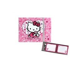 Journal intime / Carnet HELLO KITTY rose glace * NEUF * 19X14CM