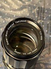 Super Multi Coated Takumar Lens 5251808 1:3.5/135  Asahi Opt. Co Japan