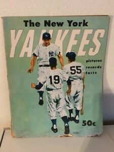 1955 NEW YORK YANKEES YEARBOOK