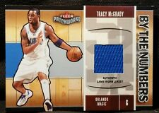 2003-04 Fleer TRACY MCGRADY PATCHWORKS BY THE NUMBERS JERSEYS #TM Magic Team