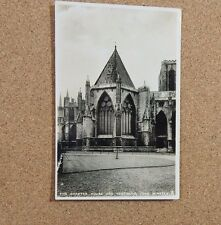 York Minster Chapter house Real photo Rapheal Tuck Card   unposted XC1
