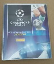 Panini UEFA Champions League 2007-2008 Binder + Trading Card Set + UPDATE SET