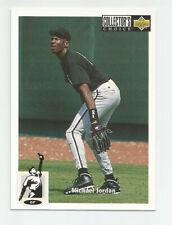 Michael Jordan 1994 Upper Deck Collector's Choice #23 Chicago White Sox Baseball