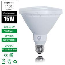 High Power PAR38 15W E27 LED COB Light Bulb Spotlight Warm White Lamp Indoor New