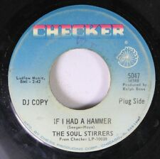 Soul 45 The Soul Stirrers - If I Had A Hammer / The Love Of God On Checker