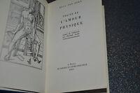 VON DERN Hugo  / TRAITE DE L'AMOUR PHYSIQUE / Cercle du livre précieux 1963