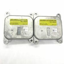2x FB5313B626B LED Headlight Module for 16-19 Ford Explorer XLT FB53-13B626-B
