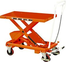 W&J HYDRAULIC LIFT TABLE 1000KG - NEW VAT Incl.