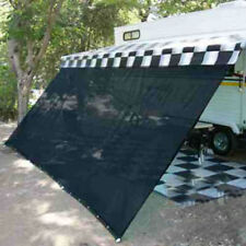 RV Awning Shade Complete Kit Sun Patio Screen Motorhome Camper Trailer 8 x 20ft
