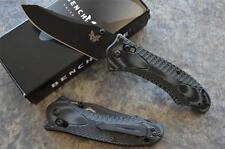 Benchmade 950BK Rift Tactical Folder Knife w/ Axis Lock & Reverse Tanto Blade