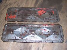 1963 1964 Chevrolet 6 cylinder engine motor side panel cover pieces block parts