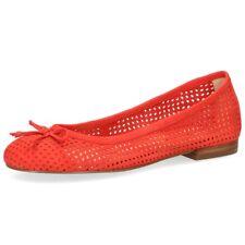 Caprice Da. Ballerina, Gr. 39, Leder, lederbezogenes Fußbett, 22101
